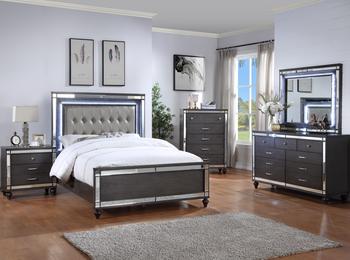 IZZMA LED Bedroom Set