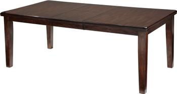 "NELA DARK Brown 78"" Wide Dining Table"