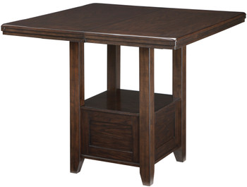 """NELA Dark Brown 60"""" Wide Counter Height Table"""