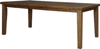 """NELA Light Brown 78"""" Wide Dining Table"""