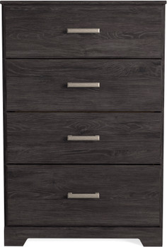 GATELL Charcoal 4 Drawer Chest