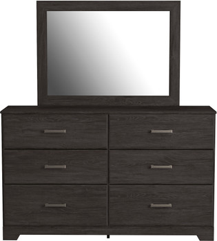 GATELL Charcoal Dresser & Mirror