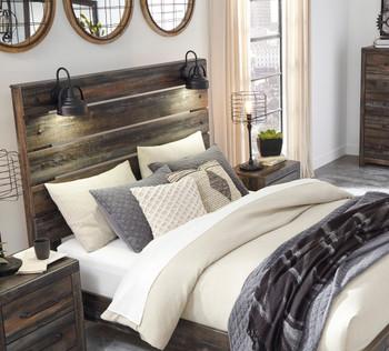 EMEK Brown Bed