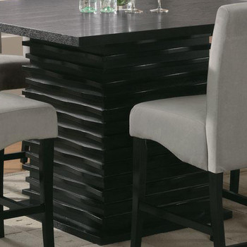 DARNELL Gray 5 Piece Counter Height Set