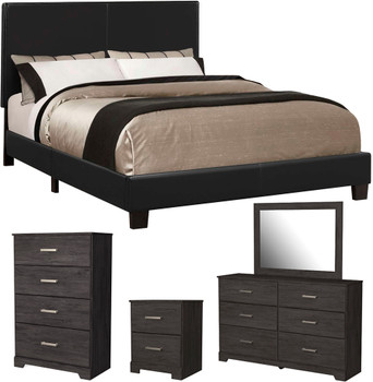 EVAN Black Bedroom