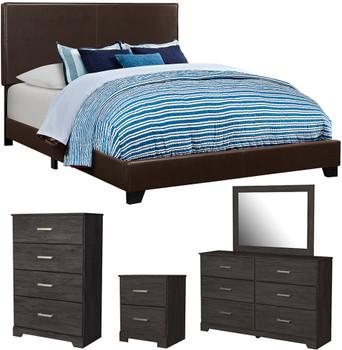 EVAN Brown Bedroom