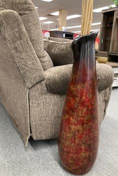 CODY Antique Red Vase