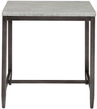 BETTON Faux Concrete End Table