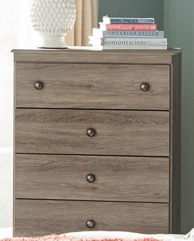 Xerces Aged Brown 5 Drawer Chest