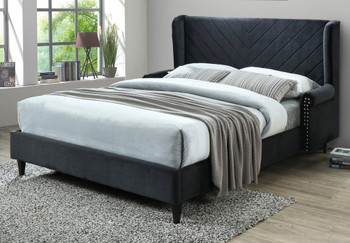 BRITTA Black Bed