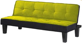 "LEOLA Green 66"" Wide Sofa Bed"