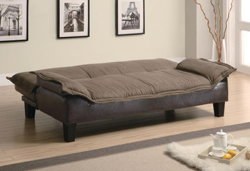 Colt Brown Adjustable Sofa Bed