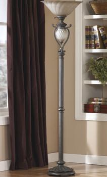 """Gavivi Dark Brown 72.5""""H Floor Lamp"""