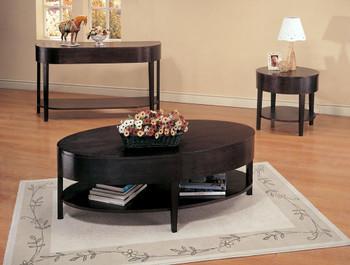 Sari Cappuccino End Table