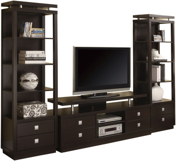 Kerri Cappuccino TV Stand with Drawers