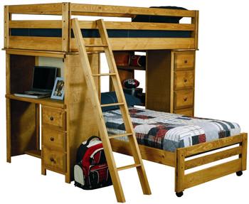 Chuck Loft Bunk Bed