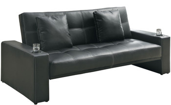 George Sofa Bed with Cup Holders