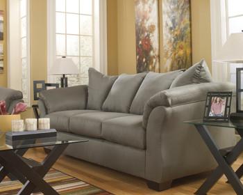 EDELINE Stone Gray Sofa & Loveseat