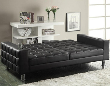 Fred Dark Brown Sofa Bed