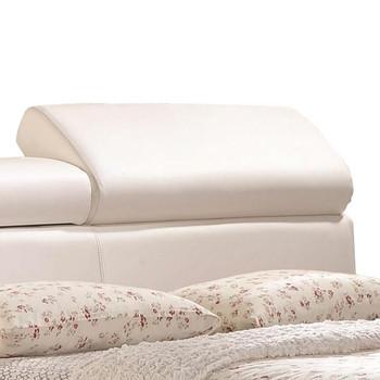 Alexander White Bed with Storage