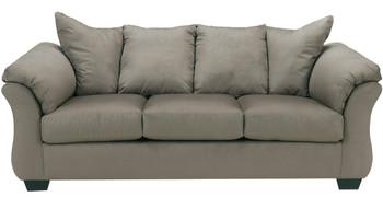 Edeline Gray Full Sofa Sleeper with Mattress