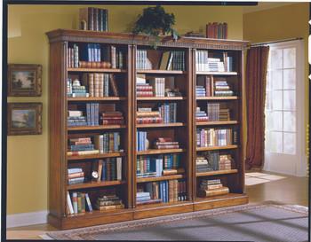 Parker 3-PC Bookcases Cherry  Finish