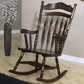 Country Style with Turned Spindle Support