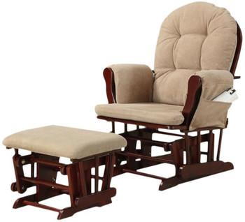 Hollie Glider Chair & Ottoman