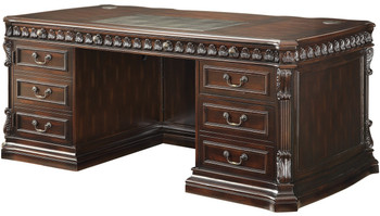 BRAYDEN 72'' Wide Executive Desk