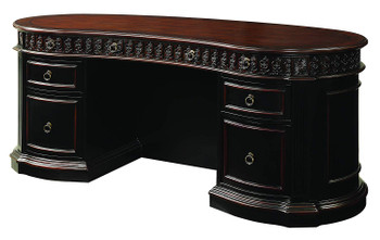 TUCKER 72'' Wide Oval Office Desk