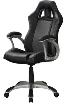 CHRIS Black Office Chair With Air Ventilation