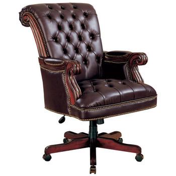 Calvin Rich Dark Brown Office Chair