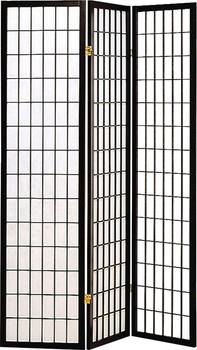 Samson Black Three-Panel Divider
