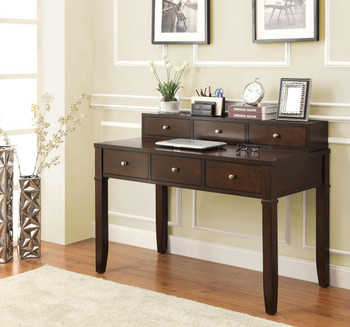 PAISLEY 24'' Wide Walnut Brown Writing Desk