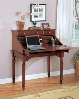 Emery Cherry Secretary Desk