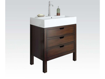 Marcelo Cherry Finish Sink