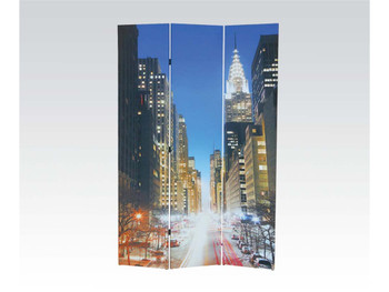Jacie New York City Three-Panel Divider