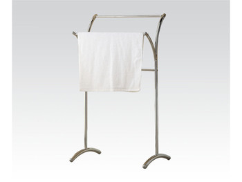 Bevis Chrome Metal Towel Rack