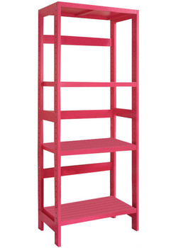 Carolan Pink Bathroom Rack