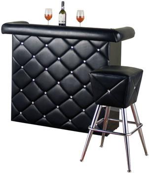 Nikson Black Bar Table