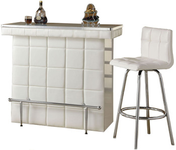 Lawley Bar Table with Tempered Glass