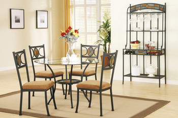 Leti 5 Piece Dining Set
