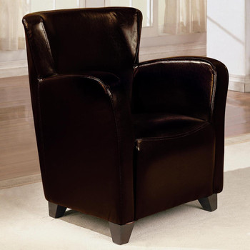Nerissa Dark Brown Arm Chair