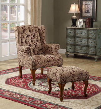 Arlington Arm Chair with Ottoman