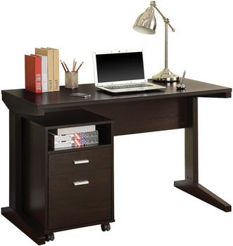 AIDRIC 47'' Wide Desk with File Cabinet