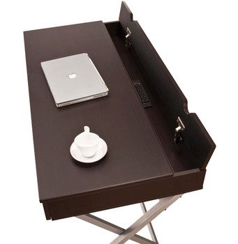 CARMAN 47'' Wide Desk with Charging Station