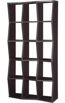Tapia Cappuccino Bookcase