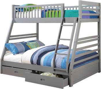 Aldo Clay Storage Bunk Bed