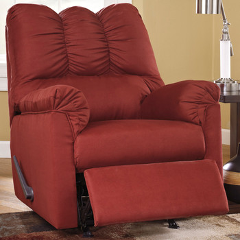 Edeline Spice Plush Rocker Recliner