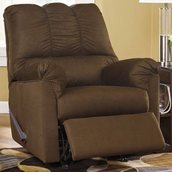 Edeline Cafe Plush Rocker Recliner